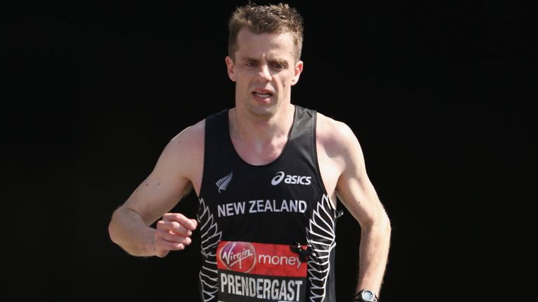 Tim Prendergast: has run middle-distance events in four Paralympic Games, including London 2012