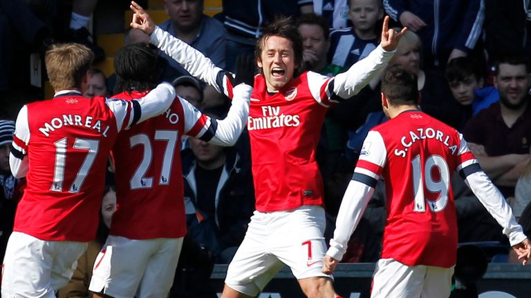 Tomas Rosicky: Looking for Arsenal's good run to continue