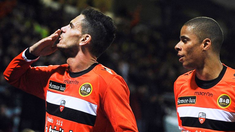 Jeremie Aliadiere: Enjoying his time at Lorient