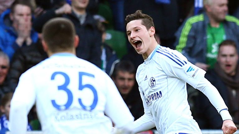 Julian Draxler: Scored a spectacular goal as Schalke beat Basel