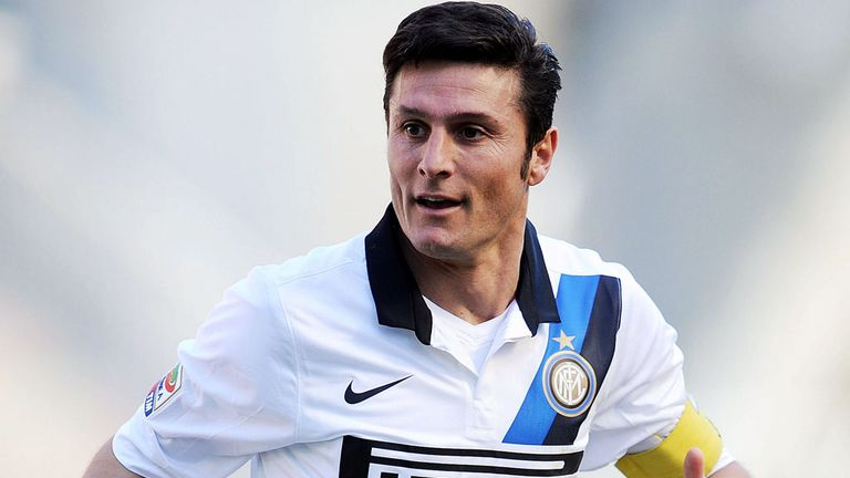 Javier Zanetti: Ruptured Achilles tendon
