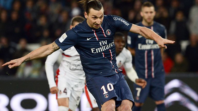 Zlatan Ibrahimovic: Scored for PSG against Nice