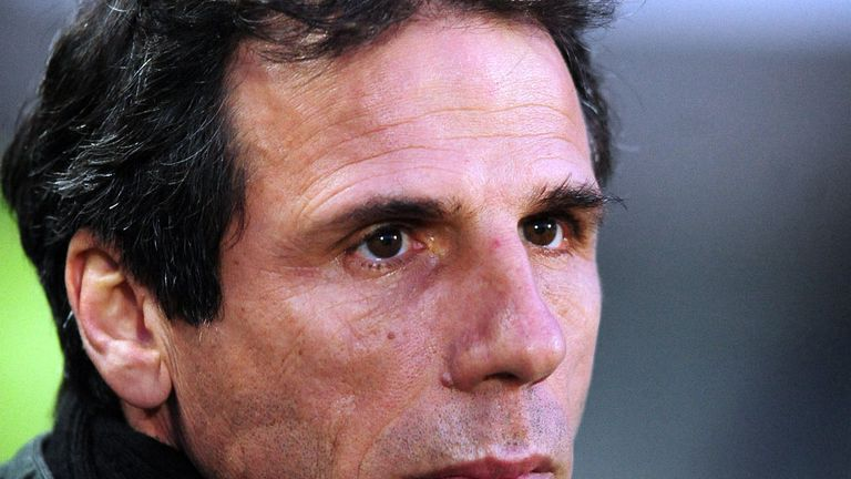 Gianfranco Zola: Watford boss watched his side secure a vital win at Hull City