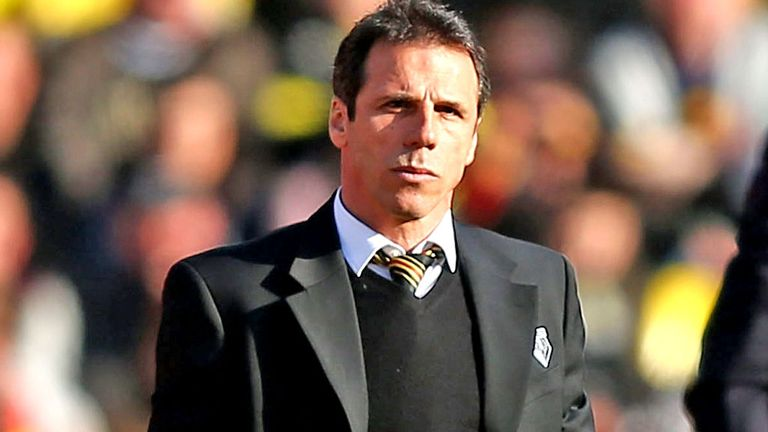 Gianfranco Zola: Looking to guide Watford back into the Premier League