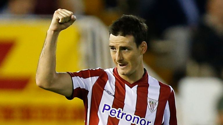 Aduriz: Scored the winner