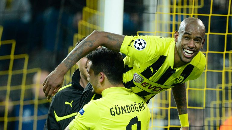 Felipe Santana: Netted a late winner as Borussia Dortmund came from behind to beat Malaga 3-2