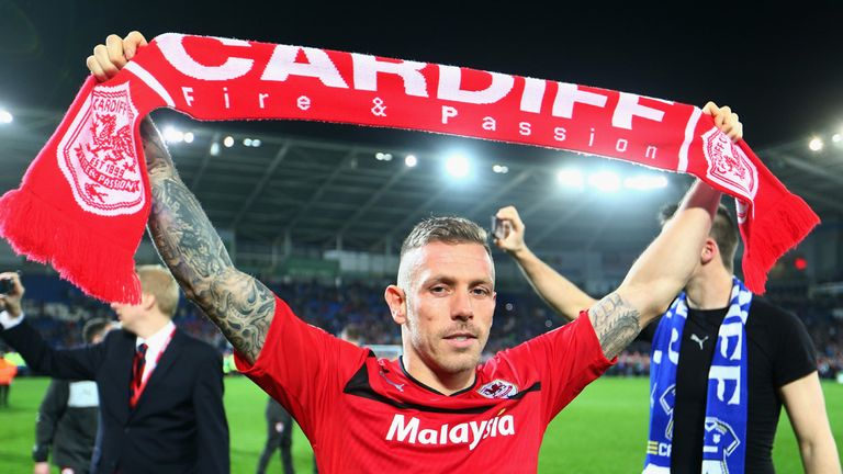 Bellamy: has been a big influence on Cardiff, says Beags