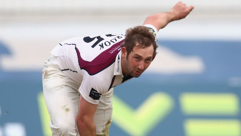 Steven Crook: Claimed four wickets to help bowl out Glamorgan