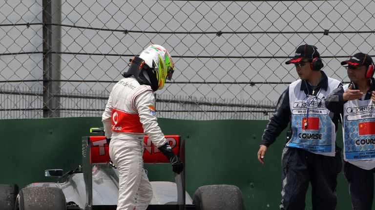The signs were apparent from Friday that Perez faced a difficult weekend
