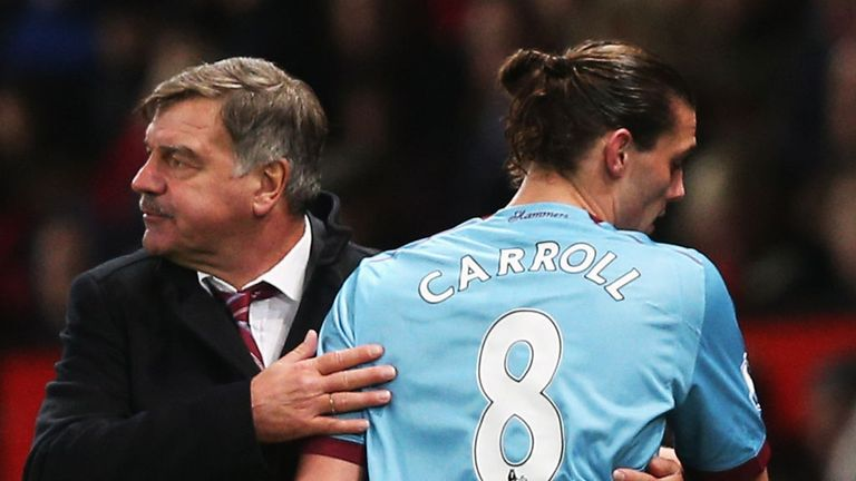 Sam Allardyce: West Ham boss believes loan spell helped persuade striker to sign on permanent deal
