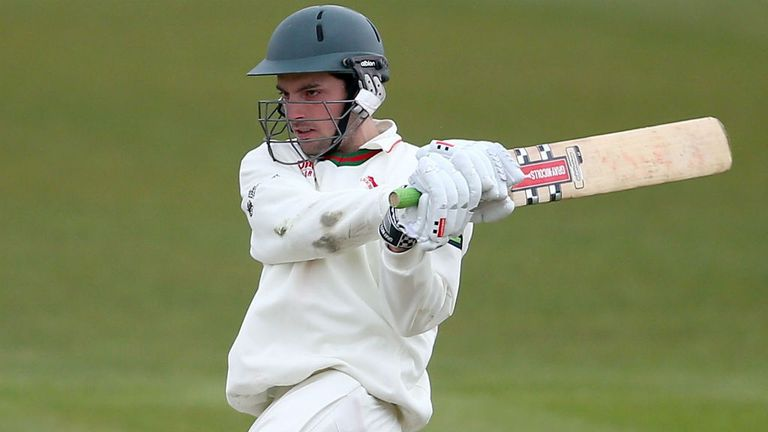 Ned Eckersley: Held up Glamorgan with an unbeaten half-century