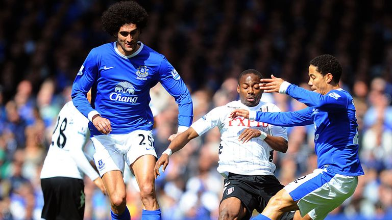 Marouane Fellaini: Linked with moves away