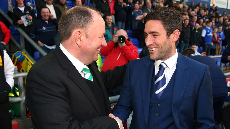 Lee Johnson: Got one over his father Gary as Oldham beat Yeovil 1-0