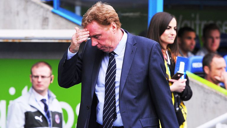 Harry Redknapp: QPR manager staying at Loftus Road