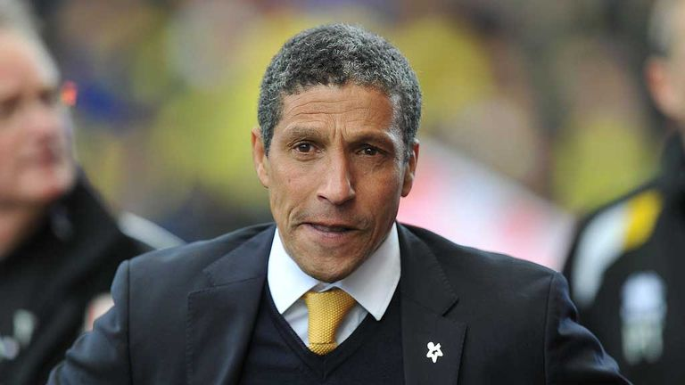 Chris Hughton: Feels his side were harshly done by at Hull