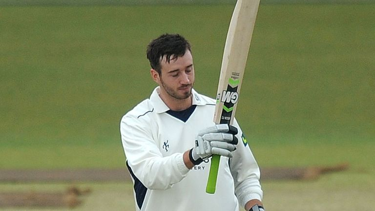 James Vince: Reached stumps on day two unbeaten on 145