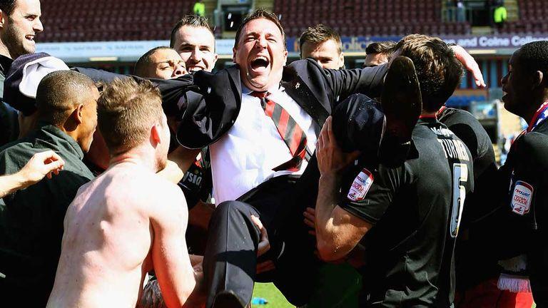 Malky Mackay overjoyed