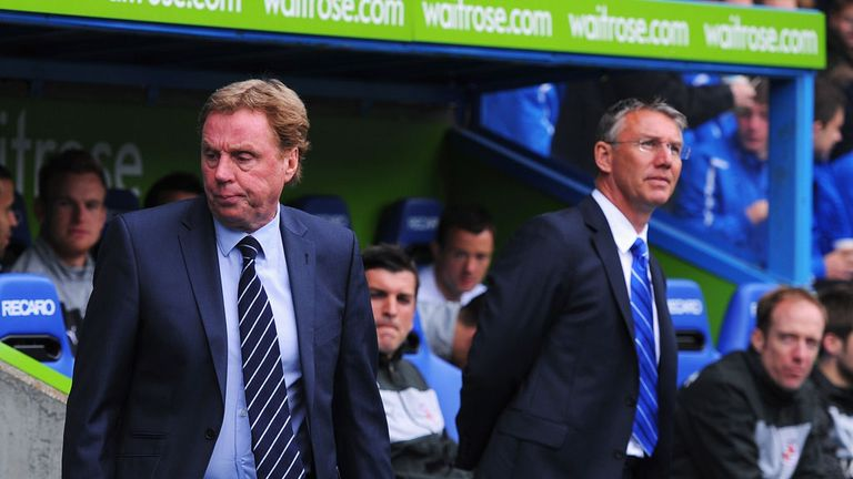 Harry Redknapp: Insists he has had no chance to build his own team at QPR