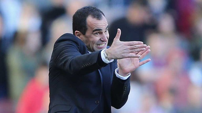 Roberto Martinez: Believed to be wanted by Everton if David Moyes leaves