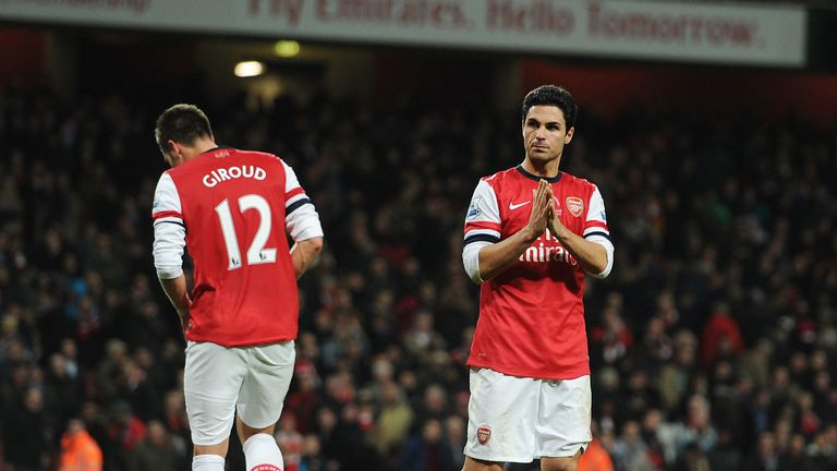 Mikel Arteta insists Arsenal must hold their nerve as they look to secure a top-four finish