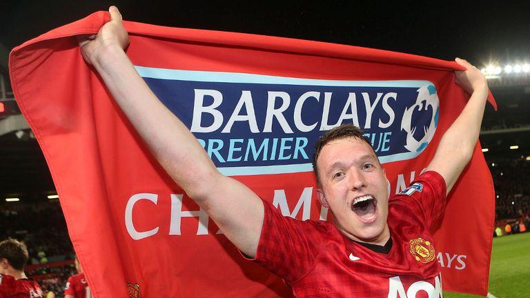 Phil Jones: Ended frustrating season as a Premier League winner