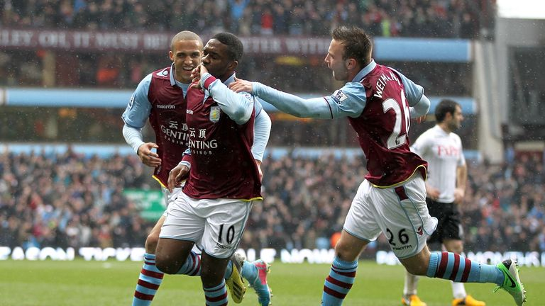 Will Aston Villa be celebrating in 2013/14?