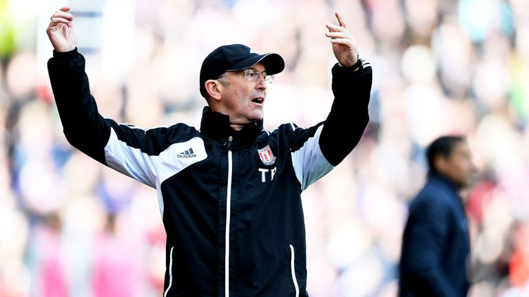 Tony Pulis: Was sacked as Stoke manager earlier this week