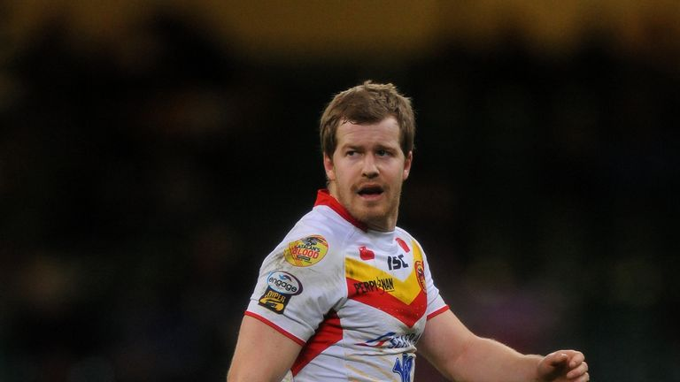 Scott Dureau: Back in action for the Catalan Dragons this weekend