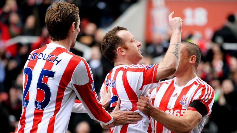 Charlie Adam: Delighted with goal