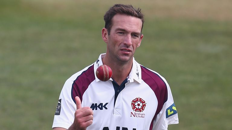 Trent Copeland: Best figures of the season since arriving at Northants
