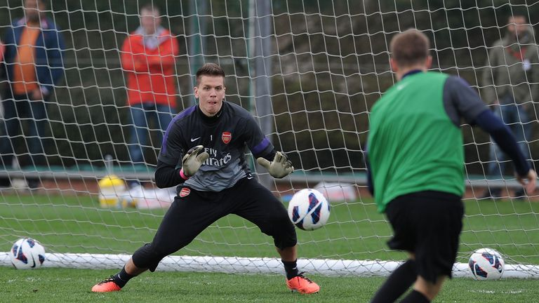 Wojciech Szczesny: Arsenal keeper has questioned the quality of Tottenham's squad