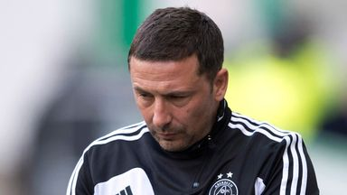 Derek McInnes: Releases midfielder Hughes after he joined in 2014