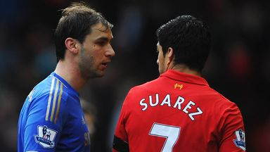 Branislav Ivanovic: Chelsea defender has forgiven Luis Suarez for biting