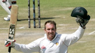 Brendan Taylor: Scored a century in each innings to help Zimbabwe to victory