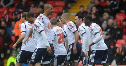 Bolton: On course for play-offs
