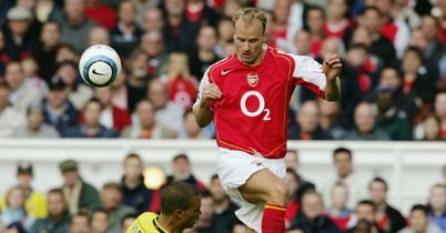 Dennis Bergkamp: Scored some spectacular goals as an Arsenal player