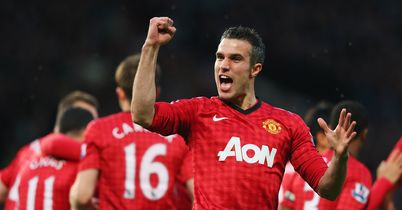 Robin van Persie: Leads the line in our latest elite XI