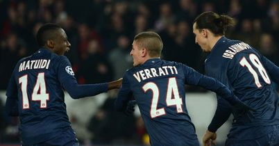 Blaise Matuidi earned PSG a draw with his goal deep into added time