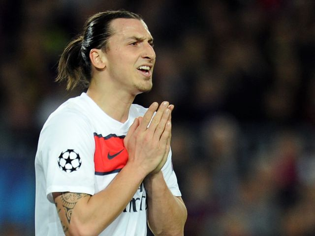 Zlatan Ibrahimovic: All he does each night is pray