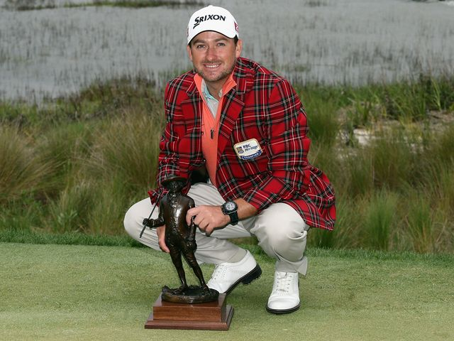 Graeme McDowell: Claimed the title after a play-off hole