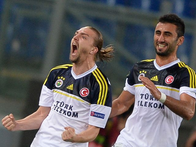 Caner Erkin scored Fenerbahce's equaliser on the night