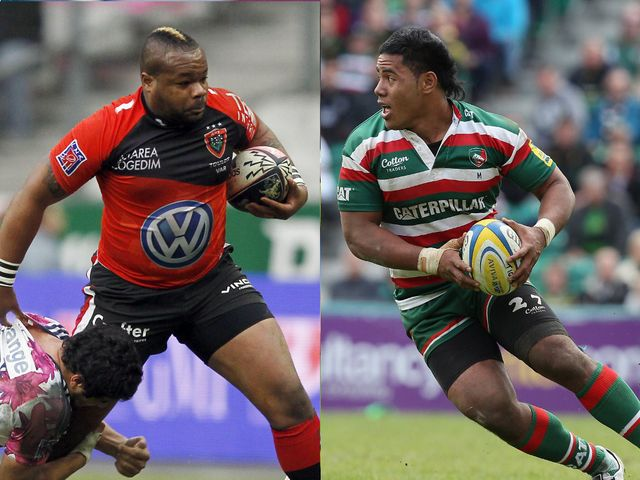 Bulldozers: Mathieu Bastareaud and Manu Tuilagi