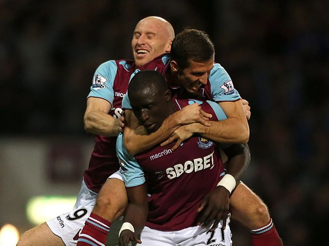Mohamed Diame struck a lovely goal for West Ham