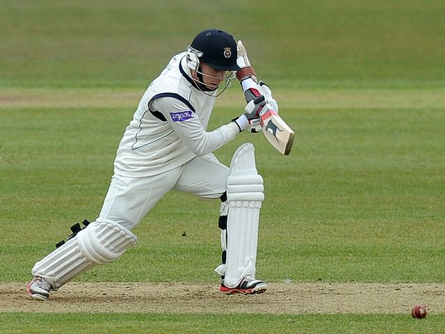 Adam Wheater: Scored a century
