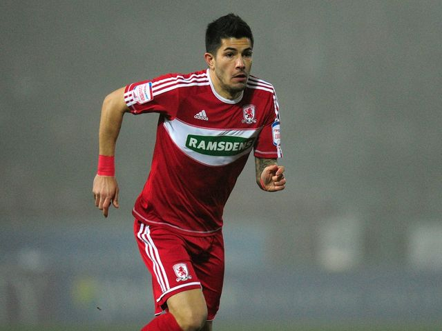 Emmanuel Ledesma: Scored for Middlesbrough