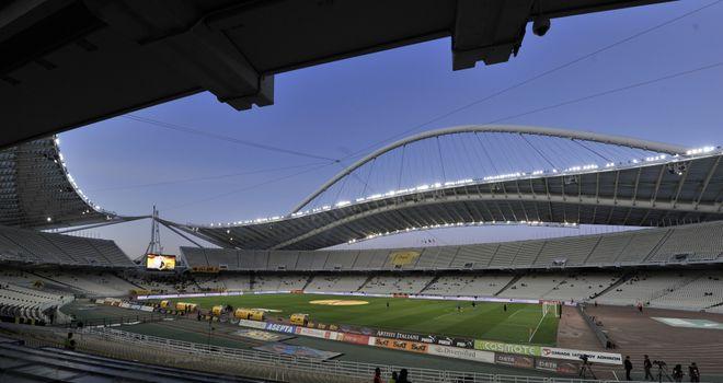 Olympic Stadium: Home of AEK Athens
