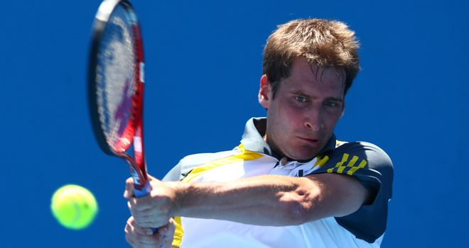 Florian Mayer: up and running at the ATP Bucharest on Tuesday