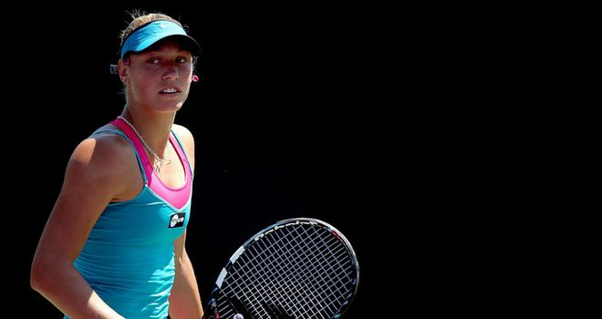 Yanina Wickmayer: Needed three sets to finally see off Valeria Savinykh