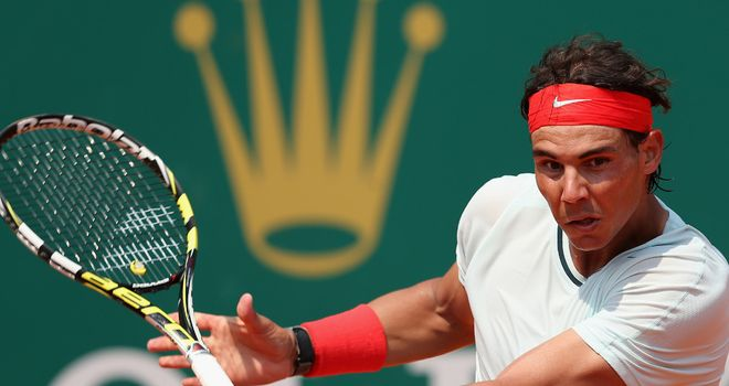 Rafael Nadal: Has now won 44 successive matches in Monte Carlo