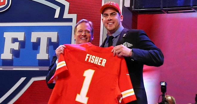 Eric Fisher: No 1 overall pick in the 2013 Draft